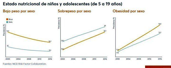 Desde 2009, las instituciones venezolanas no ofrecen estadísticas sobre la nutrición en Venezuela | Imagen Informe Mundial de Nutrición 2020