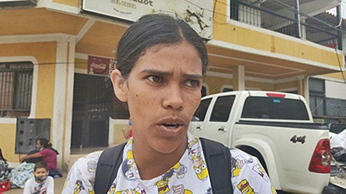 Mayerlín Escalona, de 31 años, migra por segunda vez a Bogotá, Colombia
