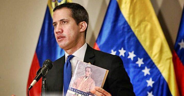 El presidente encargado, Juan Guaidó, realizó un encuentro con la prensa internacional   Foto vía Impacto Venezuela