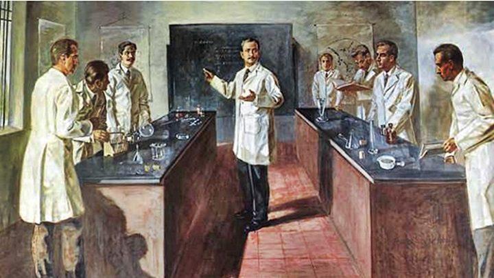 Pintura del Dr. José Gregorio Hernández realizada por el pintor Iván Ch. Belsky, la cual se encuentra en el museo del santuario de la población de Isnotú, estado Trujillo, Venezuela.